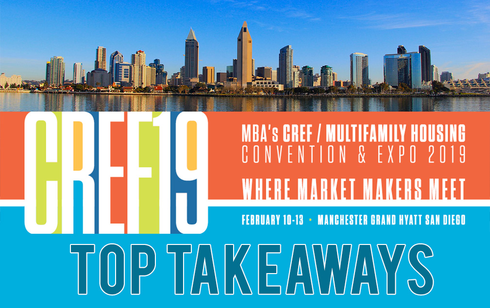 top takeaways from cref 2019